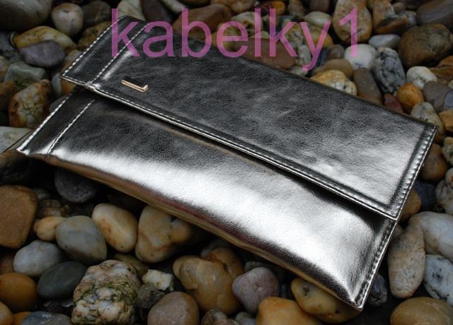 d1bab2d076 Kabelka zlatá listová metalická dlouhé ramínko psaníčko