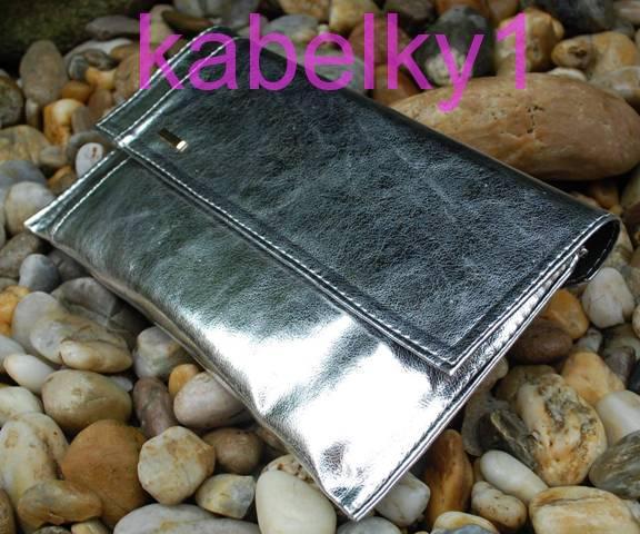 582414b867 Kompletní specifikace · Ke stažení · Související zboží (14) · Komentáře  (0). Psaníčko stříbrné listové metalické dlouhé ramínko